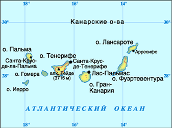 Isola Domodossola nelle isole Canarie